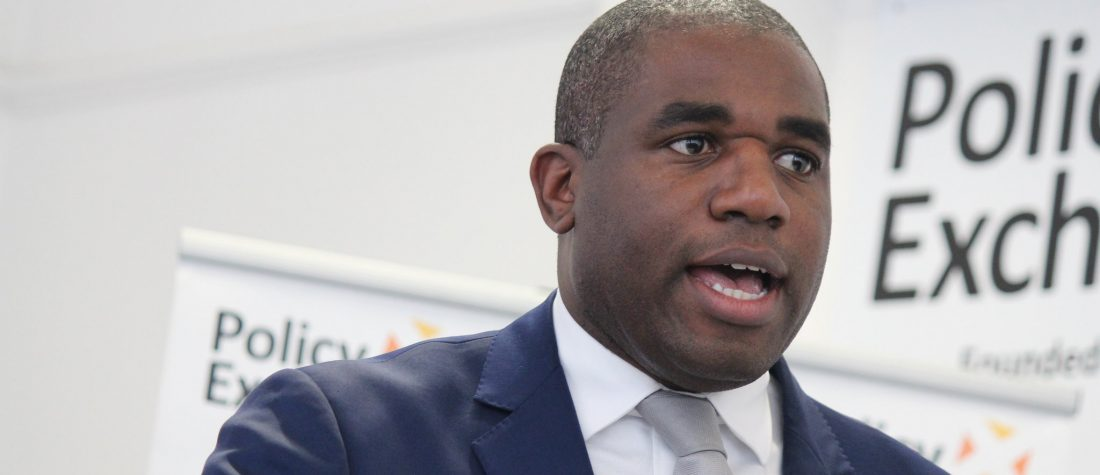 """Rt Hon David Lammy MP speaking at the launch of his report Taking Its Toll. Photo by: <a href=""""https://www.flickr.com/photos/policyexchange/16498676567"""">Policy Exchange</a>"""