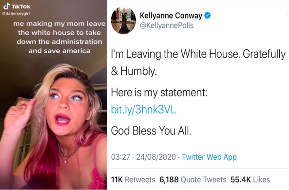Claudia Conway Kellyanne Conway The White House