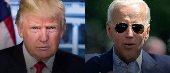 Donald Trump Joe Biden Florida US Presidential Election