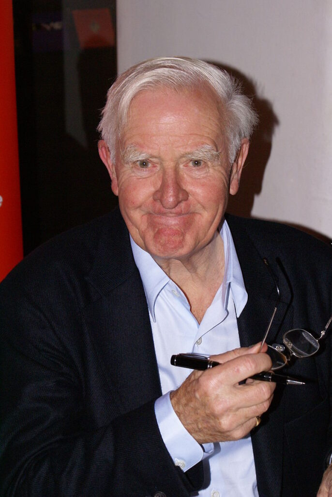 "John le Carré at the ""Zeit Forum Kultur"" in Hamburg on November 10th 2008 (CC BY 3.0)"