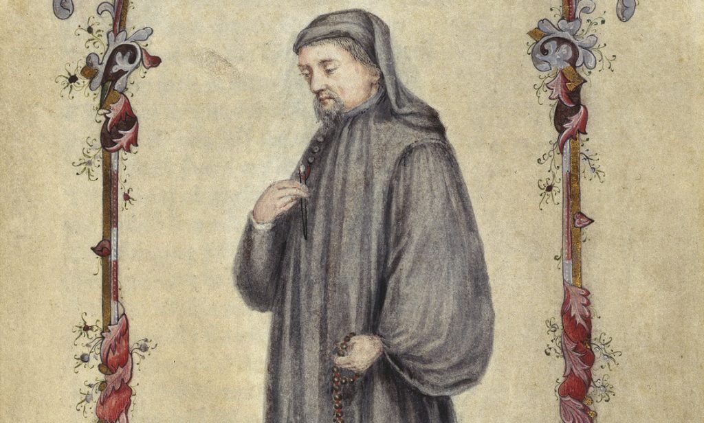 A 1478 portrait of the great poet. British Library