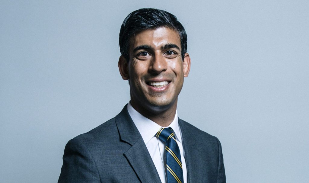 Official parliamentary portrait of Rishi Sunak. Chris McAndrew