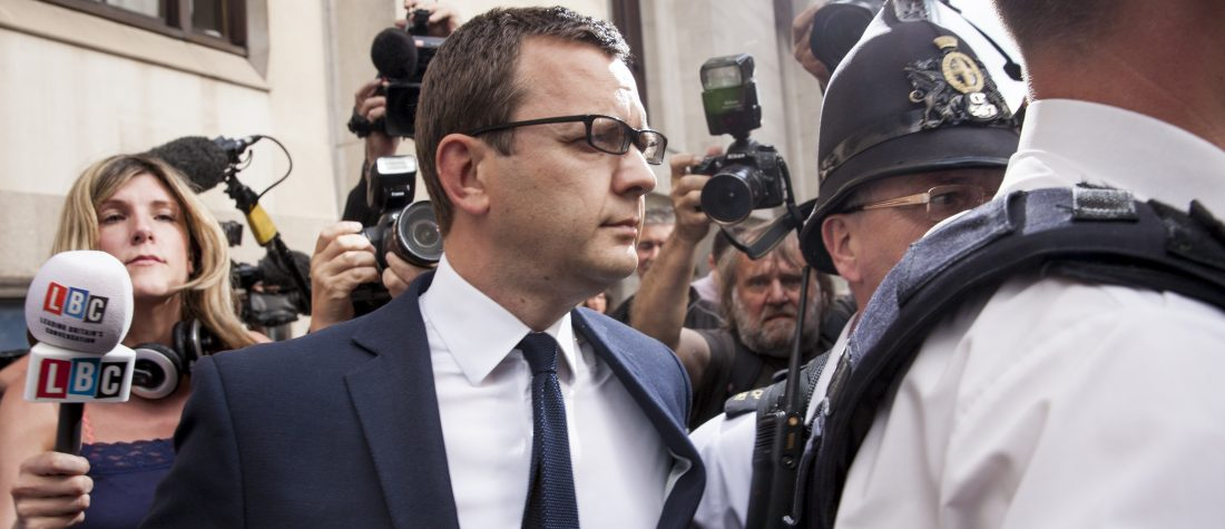 The former News of the World editor and Downing Street communications chief leaves the Old Bailey on June 24, 2014. Photo by Rob Stothard/Getty Images